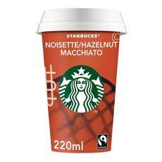 STARBUCKS Boisson lactée au café saveur noisette 220ml