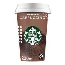 STARBUCKS Boisson lactée au café saveur Cappucino 220ml