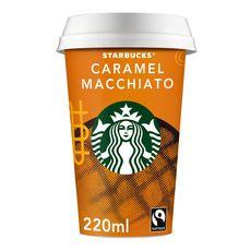 STARBUCKS Boisson lactée au café saveur caramel 220ml