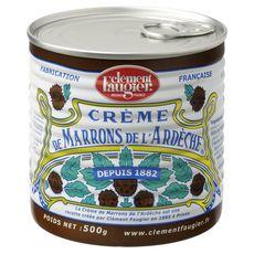 CLEMENT FAUGIER Crème de marrons de l'Ardèche 500g
