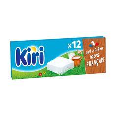 KIRI Fromage fondu à la crème en portion 12  portions 240g