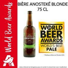 ANOSTEKE Bière blonde artisanale du pays Flamand 8% 75cl