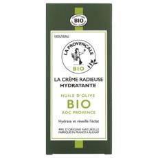 LA PROVENCALE BIO Crème radieuse hydratante huile d'olive bio 50ml