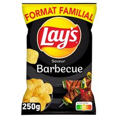 LAY'S Chips goût barbecue 250g