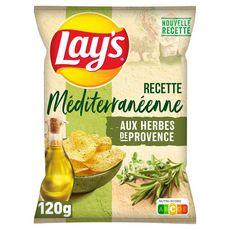 LAY'S Chips méditerranéenne aux herbes de Provence 120g