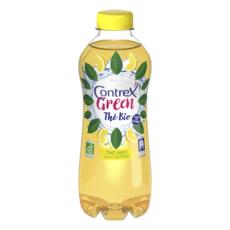 CONTREX Infusion de thé vert bio saveur citron 75cl