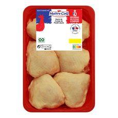 MAITRE COQ Hauts de cuisses de poulets jaunes 1kg