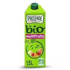 PRESSADE Nectar multifruits sans pulpe bio brique 1.5l