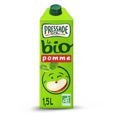 PRESSADE Nectar pomme bio brique 1,5l