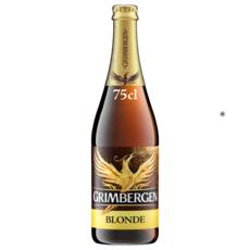 GRIMBERGEN Bière blonde 6,7% 75cl