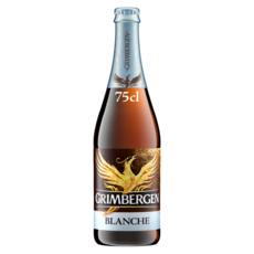GRIMBERGEN Bière blanche 6% 75cl