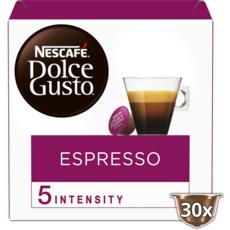 DOLCE GUSTO Capsules de café Espresso compatibles Dolce Gusto 30 capsules 165g