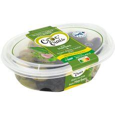 CROC'FRAIS Olives dénoyautées aux herbes 200g