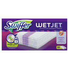 SWIFFER Wet Jet recharges lingettes 10 lingettes