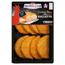 MAITRE COQ Cordon bleu de poulet raclette 8 pièces 800g