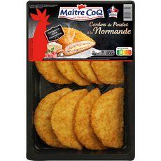 MAITRE COQ Cordon de poulet à la normande 800g