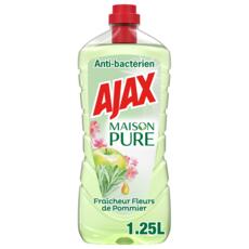 AJAX Nettoyant ménager multi-surfaces anti-bactérien 1,25l