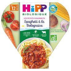 HIPP Assiette spaghetti à la bolognaise bio dès 12 mois 230g