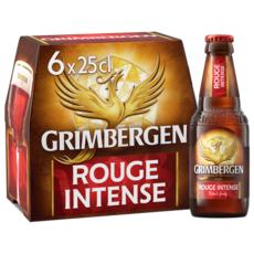 Grimbergen GRIMBERGEN Bière aromatisée fruits rouges 5.5% bouteilles