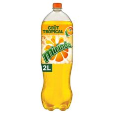 MIRINDA Boisson gazeuse aromatisée tropical mangue tangerine 2l