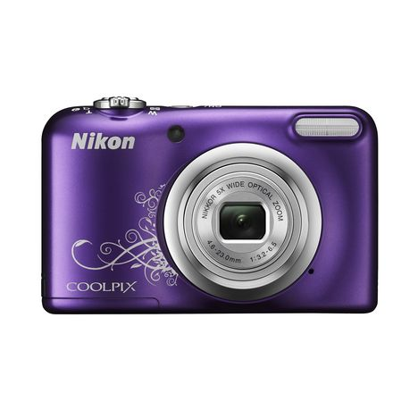 coolpix a10 violet line art appareil photo compact. Black Bedroom Furniture Sets. Home Design Ideas