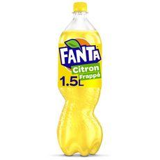 FANTA Boisson gazeuse citron frappé avec sucre et édulcorant 1,5l