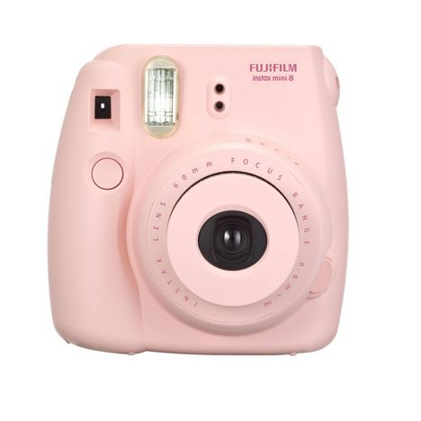 instax mini 8 rose appareil photo instantan fuji pas. Black Bedroom Furniture Sets. Home Design Ideas