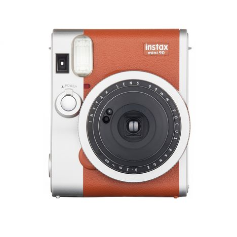 instax mini 90 marron appareil photo instantan fuji. Black Bedroom Furniture Sets. Home Design Ideas