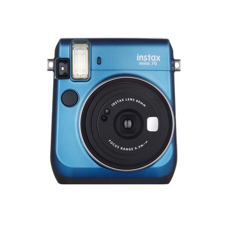 instax mini 70 bleu appareil photo instantan fuji pas cher prix auchan. Black Bedroom Furniture Sets. Home Design Ideas