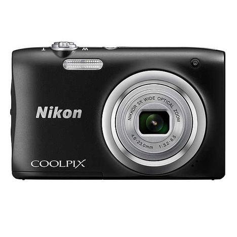coolpix a100 noir appareil photo compact nikon pas. Black Bedroom Furniture Sets. Home Design Ideas