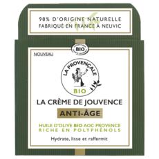 LA PROVENCALE BIO Crème de jouvence anti-âge nuit huile d'olive bio 50ml
