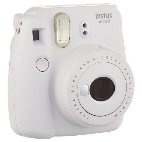FUJIFILM Appareil Photo Instantané - Instax Mini 9 - Blanc cendré