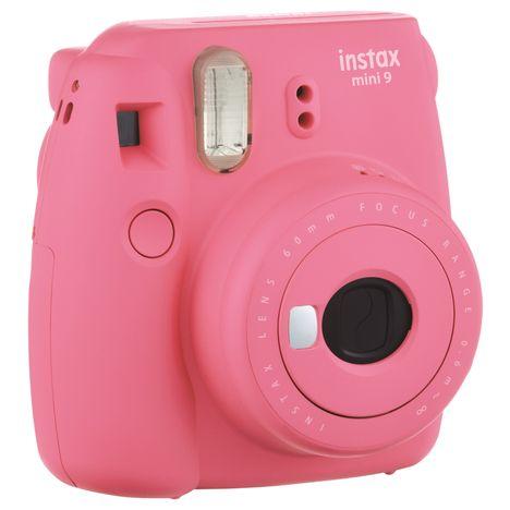 instax mini 9 rose corail appareil photo compact fuji pas cher prix auchan. Black Bedroom Furniture Sets. Home Design Ideas