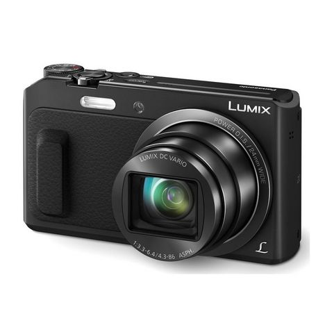 PANASONIC Appareil Photo Compact - Lumix DMC-TZ57 - Noir + Objectif 4.3-86 mm