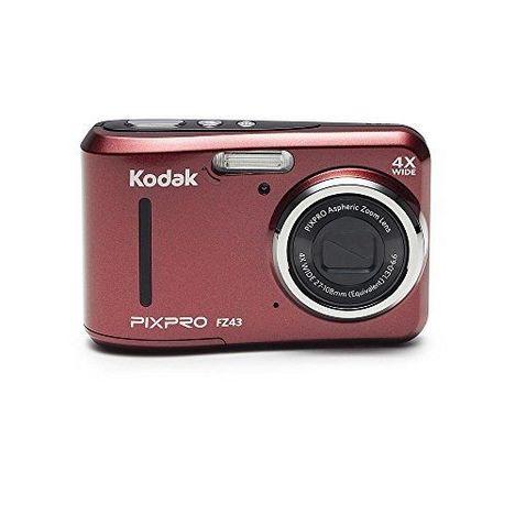 pixpro fz43 rouge appareil photo compact kodak pas cher prix auchan. Black Bedroom Furniture Sets. Home Design Ideas