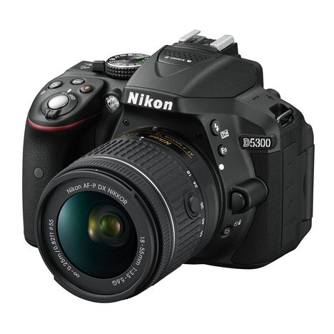 NIKON Appareil photo reflex D5300 + AF-P DX 18-55