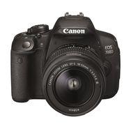CANON Appareil Photo Reflex - EOS 700D - Noir + Objectif 18-55 mm