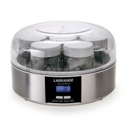 LAGRANGE Yaourtière 439101 Inox Programmable 7 Pots