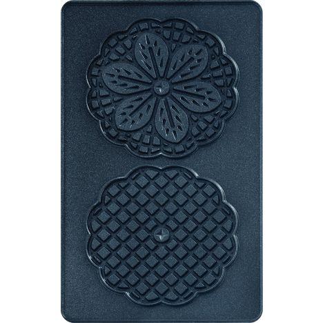 TEFAL Lot de 2 plaques gaufrette Bricelets XA800712