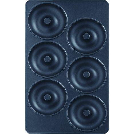 TEFAL Lot de 2 plaques à beignet XA8001112, Pour Tefal Snack Collection