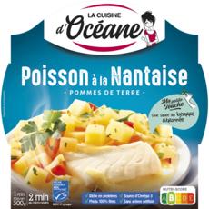 LA CUISINE D'OCEANE Plat cuisiné poisson à la nantaise et pommes de terre 1 part 300g