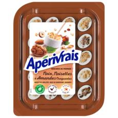 APERIVRAIS Bouchées de fromage frais noix noisettes et amandes 100g 100g