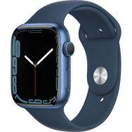 APPLE Watch série 7 - 45 mm - Alu - Bleu