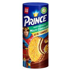 PRINCE Biscuits goût chocolat multi céréales au blé complet 293g
