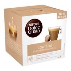 DOLCE GUSTO Capsules de café cortado espresso macchiato 16 capsules 100g