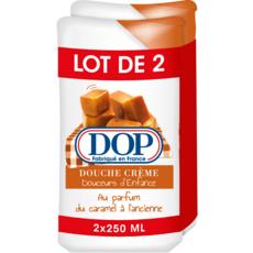 DOP Douceurs d'enfance Crème de douche parfum caramel à l'ancienne Lot de 2 2x250ml