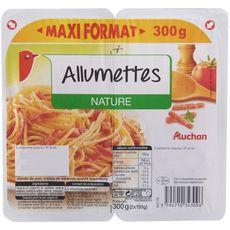 AUCHAN Allumettes nature 2x150g