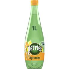 PERRIER Eau gazeuse aromatisée aux agrumes 1l