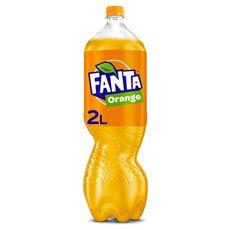 FANTA Boisson gazeuse au jus d'orange avec sucre et édulcorants 2l