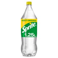 SPRITE Boisson gazeuse aux arômes naturels de citron et citron vert 1,25l